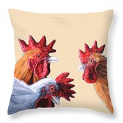 Gossip Girls Throw Pillow