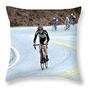 Gran Fondo Throw Pillow