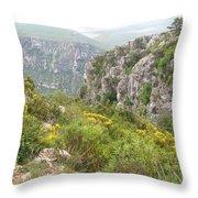 Grand Canyon Du Verdon - France Throw Pillow
