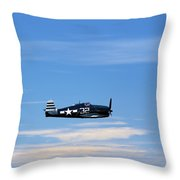 Grumman Hellcat Throw Pillow