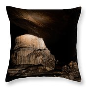 Grutas De Cacahuamilpa Throw Pillow