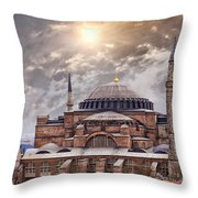 Hagia Sophia Istanbul Throw Pillow