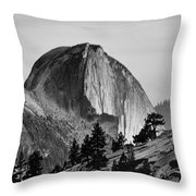 Half Dome Throw Pillow by Cat Connor