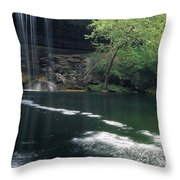 Hamilton Pool Nature Preserve Throw Pillow