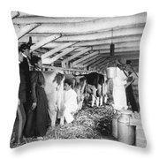 Hampton Institute, C1900 Throw Pillow