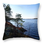 Haukkajarvi Throw Pillow
