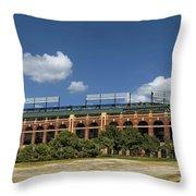 Home Of The Texas Rangers Throw Pillow