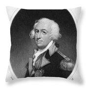 Horatio Gates (c1728-1806) Throw Pillow