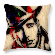 Humphrey Bogart Collection Throw Pillow