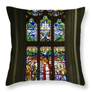 Igreja Luterana Of Petropolis- Brazil Throw Pillow