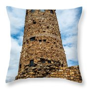 Indian Watchtower Grand Canyon Throw Pillow