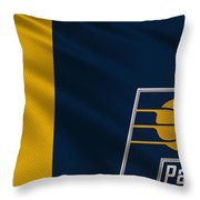 Indiana Pacers Uniform Throw Pillow