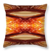 Intrepid Zigzags Throw Pillow