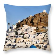 Ios Town Throw Pillow