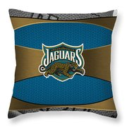 Jacksonville Jaguars Throw Pillow