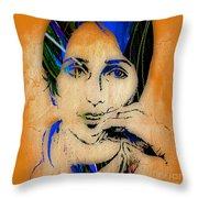 Joan Baez Collection Throw Pillow
