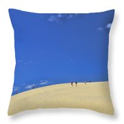 Jockey's Ridge State Park Throw Pillow