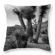 Joshua Tree Utah Throw Pillow