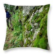 Keketuohai Park, China China Climbing Throw Pillow