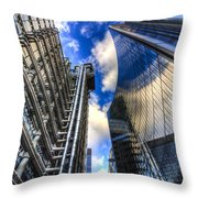 Lloyd's And Willis Group London Throw Pillow