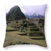Machu Picchu Peru Throw Pillow
