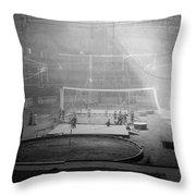 Madison Square Garden Throw Pillow