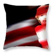 Marylin Monroe Throw Pillow