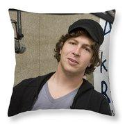 Matt Wertz Throw Pillow