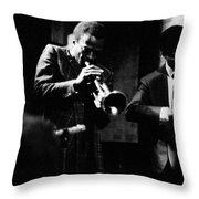 Miles Davis At The Penthouse Throw Pillow