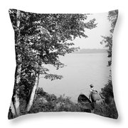 New York Adirondacks Throw Pillow