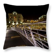 Newcastle Quayside Throw Pillow