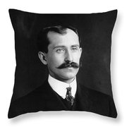 Orville Wright (1871-1948) Throw Pillow
