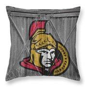 Ottawa Senators Throw Pillow