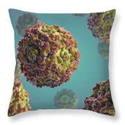 Parvovirus B19 Throw Pillow