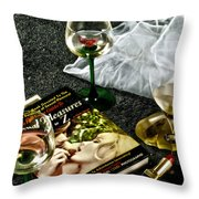 Passion Throw Pillow by Camille Lopez