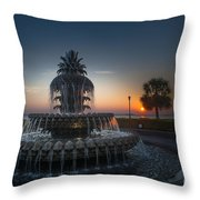 Charleston Sunrise  Throw Pillow