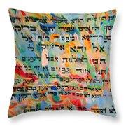 Rabba Bar Rav Hanan Throw Pillow