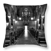 Saint Marks Episcopal Cathedral Throw Pillow