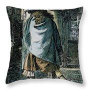 Samuel Pepys (1633-1703) Throw Pillow