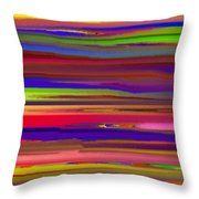 Schreien Throw Pillow