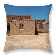 Sky City Acoma Pueblo Throw Pillow