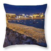 Spa Of Our Lady Of The Palm Cadiz Spain Throw Pillow