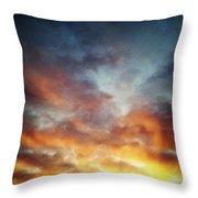 Sunset Sky Throw Pillow