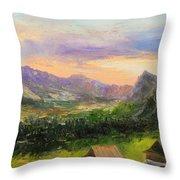 Tatry Mountains- Poland Throw Pillow