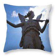 The Castle Of Schwerin Throw Pillow