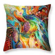 The Grapes Of Holy Land Throw Pillow
