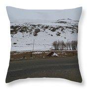 The Hills Throw Pillow