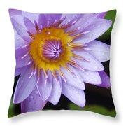 The Lotus Flower Throw Pillow