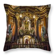 The Monastery Of San Francisco -  Lima Peru Throw Pillow