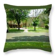 Third Unitarian Church Of Chicago Throw Pillow